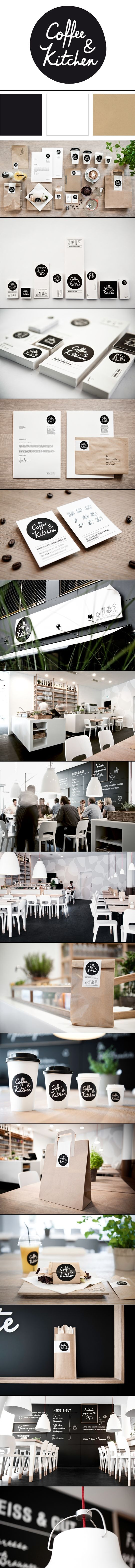 identity / Coffee & Kitchen | Moodley Brand Identity | < repinned by www.BlickeDeeler.de | Take a look at www.LogoGestaltun...