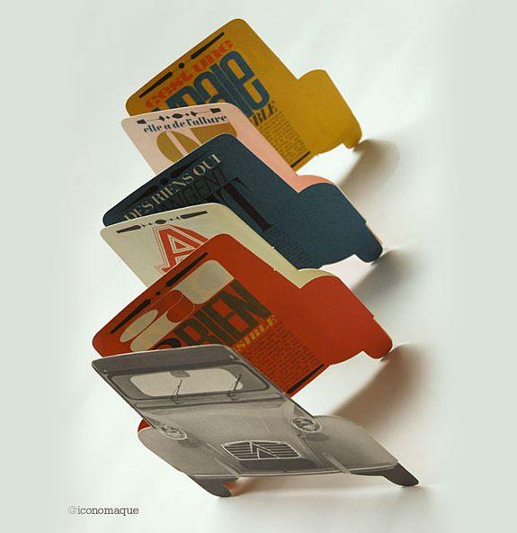 Custom Shape Accordion Fold Booklet
