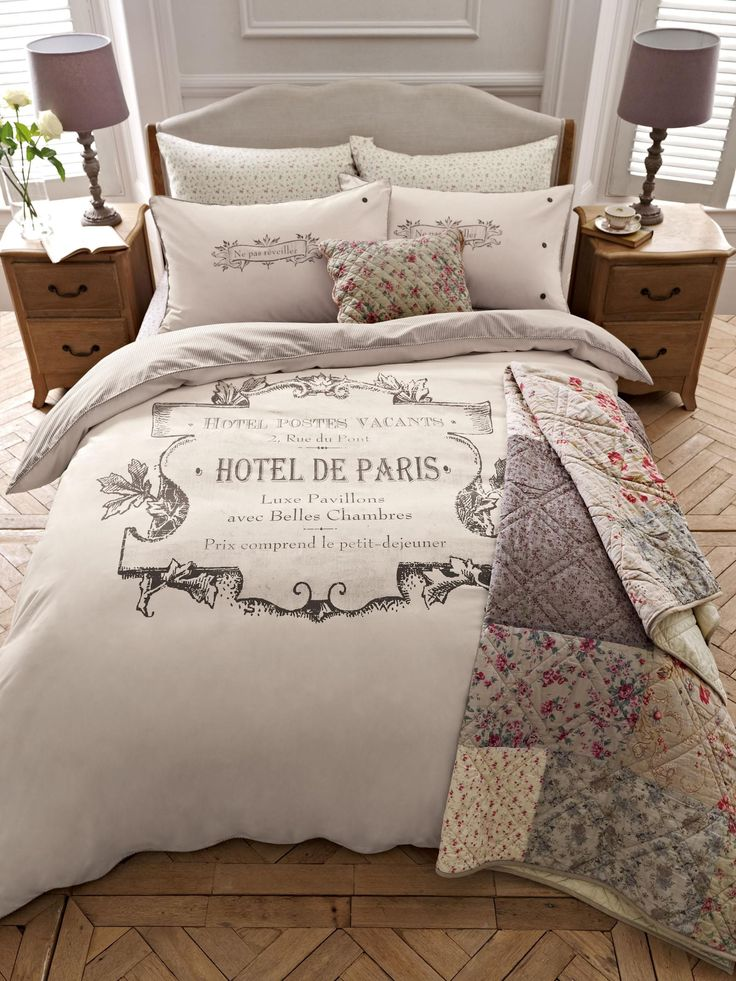 buy paris print bed set from the next uk online shop creative wedding ideas center pieces. Black Bedroom Furniture Sets. Home Design Ideas