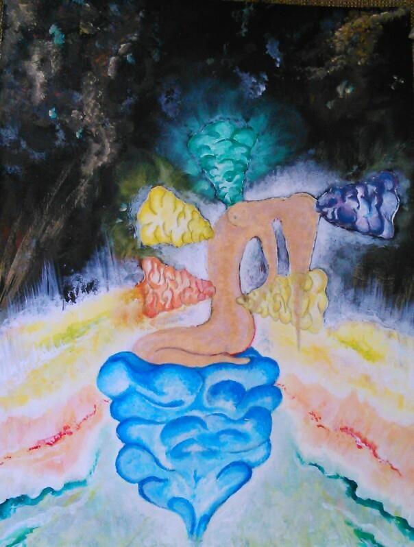 Cosmic bathing by EtherealLink.deviantart.com on @deviantART