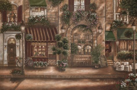 Gourmet Shoppes I by Betsy Brown