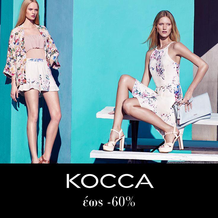 Εκπτώσεις σε KOCCA έως -60% @shopatshopgr http://www.shopatshop.gr #kocca #greek #fashion #dresses #womenfashion