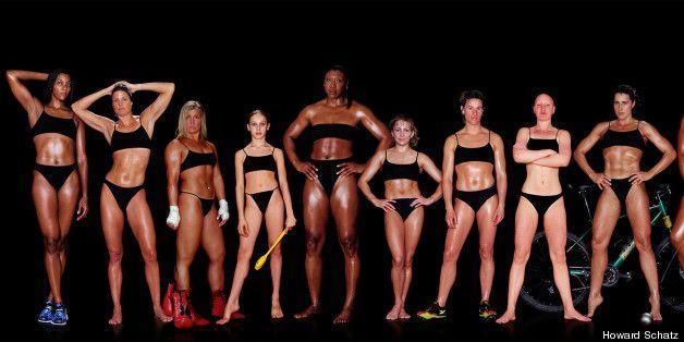 Olympic Athletes bodies