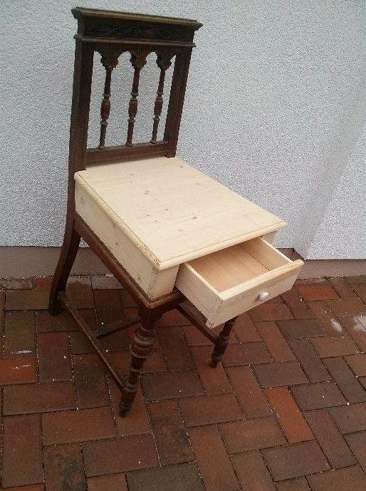 Jitka Drdová, židle před úpravou