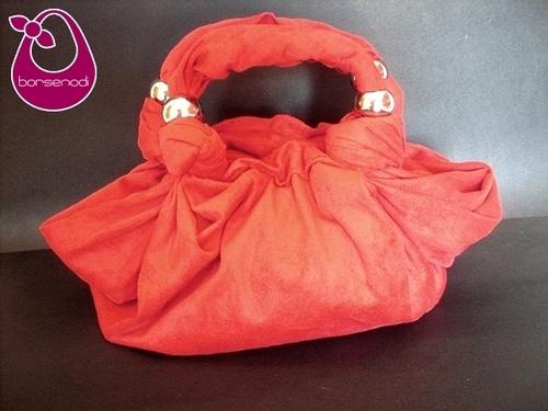 BORSE NODI senza cuciture creata annodando la stoffa #bags