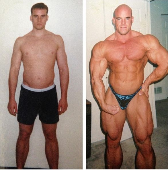 Bodybuilders before/after | Transformations | Pinterest
