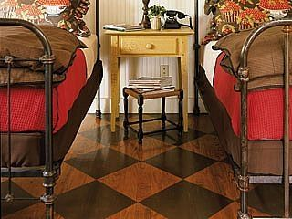 How to Paint Wood Floors