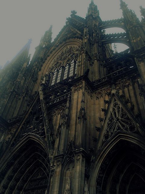 Cologne, Germany - I love this city but in particular this cathedral.