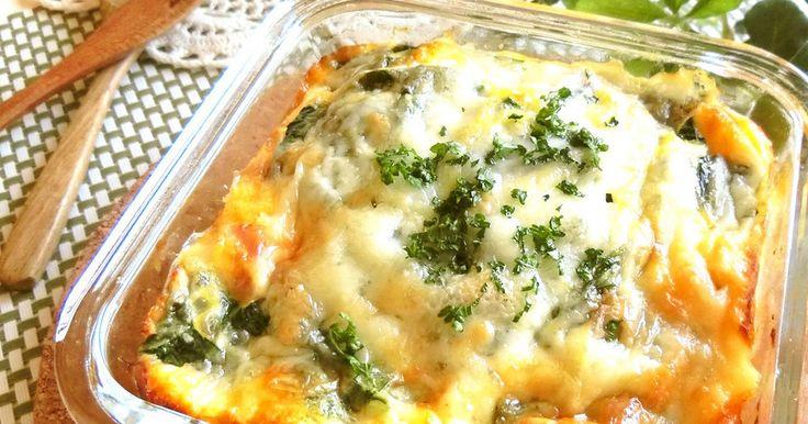 たっぷり小松菜と筍のカレー風味キッシュ♡ by RIKA☆MAMA [クックパッド] 簡単おいしいみんなのレシピが262万品