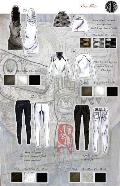 Chantelle Watson's Portfolio : Fashion Illustration #38860
