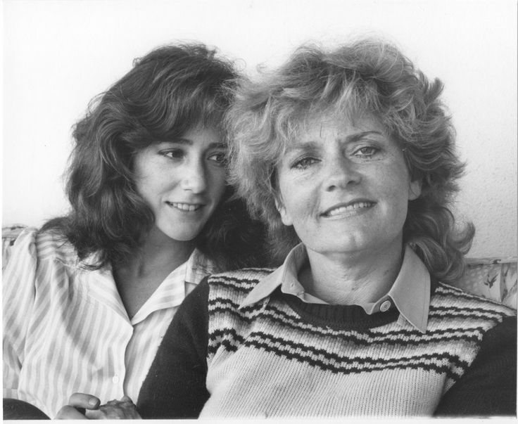 Talia Balsam and her mother Joyce Van Patten Her father is the late Martin Balsam.  Talia was George Clooney's 1st wife and is now married to actor John Slattery, Roger Sterling of Mad Men.