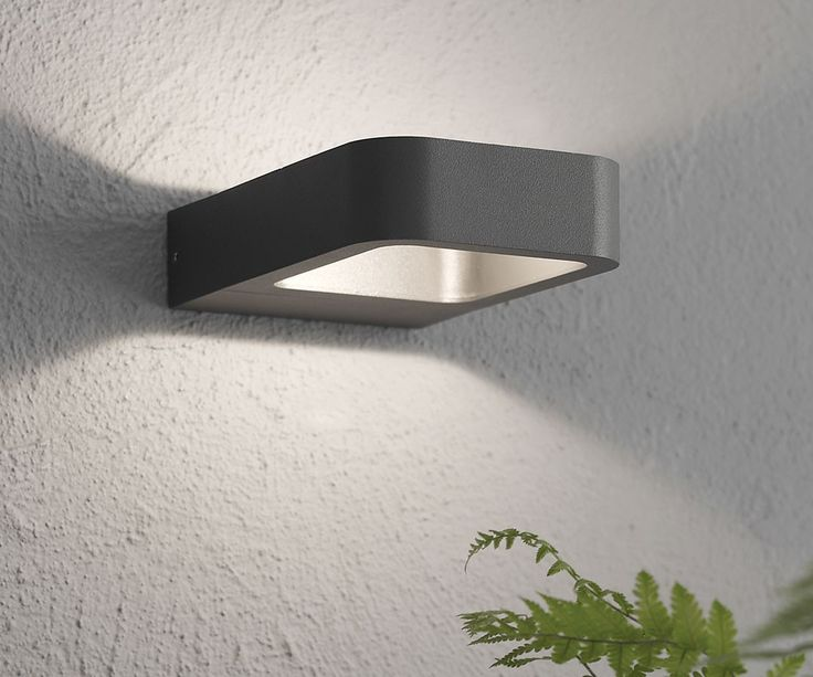 7 best outdoor lighting images on pinterest beacon lighting beacon lighting ledlux deta 200 lumen ip54 weatherproof rated exterior small wall bracket in charcoal mozeypictures Images