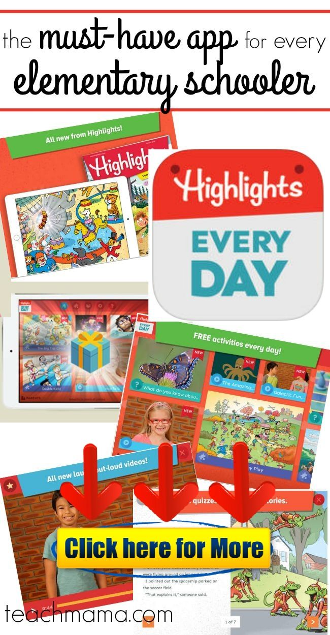 Highlights Every Day app: THE must-have app for every 5-9