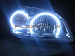 Chevrolet Cobalt White LED HALO HEADLIGHT KIT  (2005-2010) | eBay