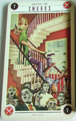 77 best images about cards the zombie tarot on pinterest for Zombie balcony