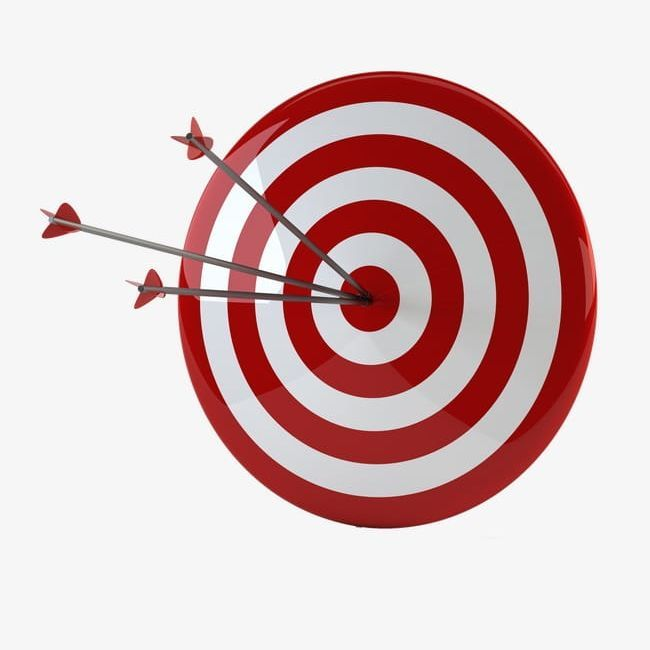 12++ Bow and arrow target clipart info