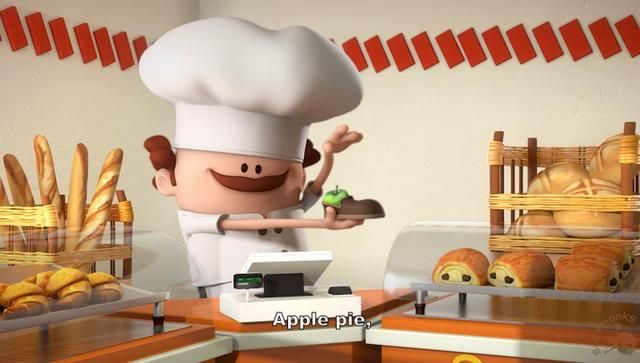 Cute little videos about jobs... there's one for a baker, a lawyer, and a surgeon.