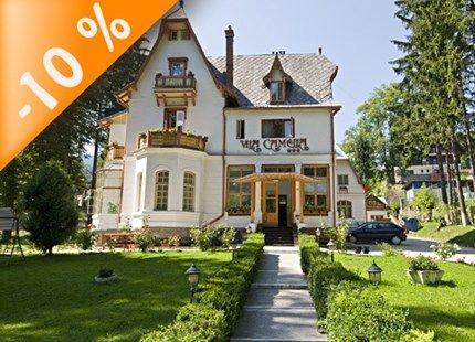 Cazare hoteluri, vile si pensiuni in Sinaia cu confirmare pe loc prin cel mai mare site de rezervari online INFO-HOTELURI.RO