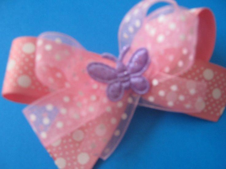 Cute pink bow for girls Hermoso moño rosado para niñas $7.000 COP unidad