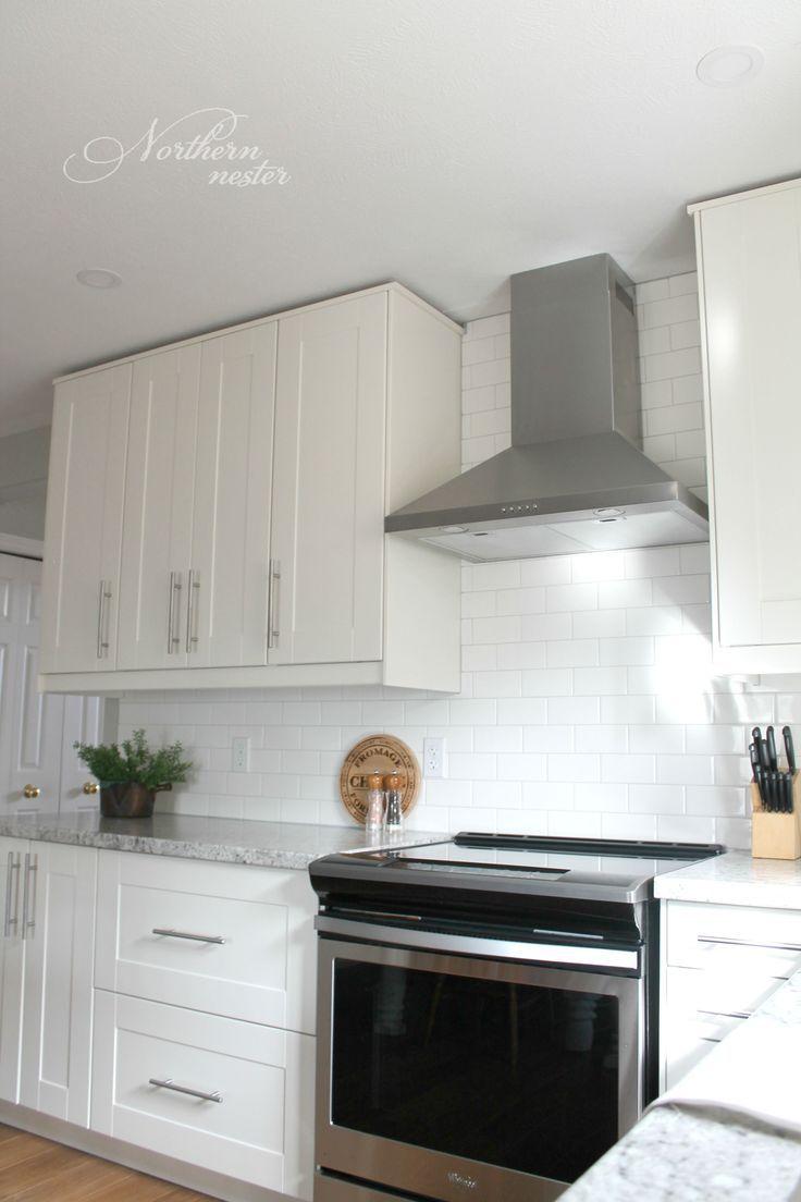 Best Ikea Kitchen Reno Before After White Ikea Kitchen 400 x 300