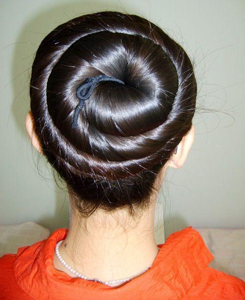 Chinalonghair Forum Long Hair Photos Big Big Buns Bun