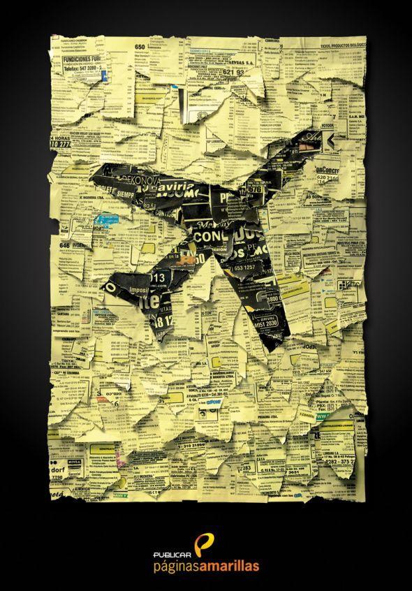 Yellow Pages: Travel Agency | found on www.adsoftheworld.com pinned by www.BlickeDeeler.de | Follow us on www.facebook.com/blickedeeler