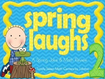 Spring Laughs- A Math Review and Spring Joke Walk the Room Gr.2Are you ready to add some movement and laughter into your math activities this Spring? The Spring Laughs Walk the Room activity gets your students up and moving while solving grade level math standards and answering hilarious Spring themed jokes!