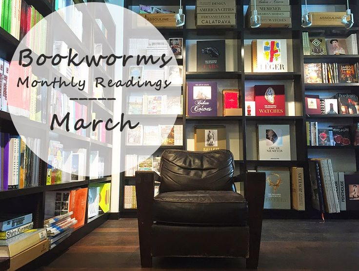 Atstarfish Book Reviews - Bookworms: Monthly Readings, March