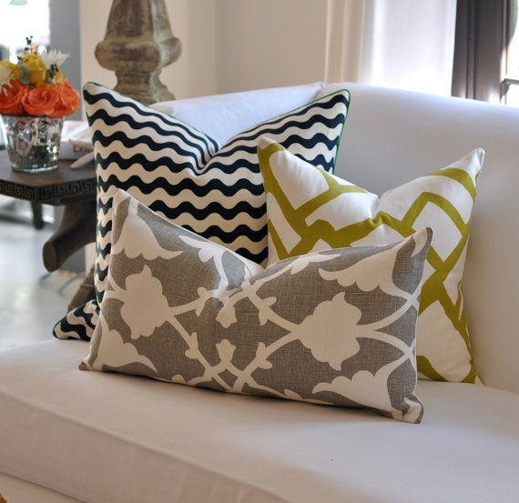 Poduszki dekoracyjne po raz drugi - Home like I like