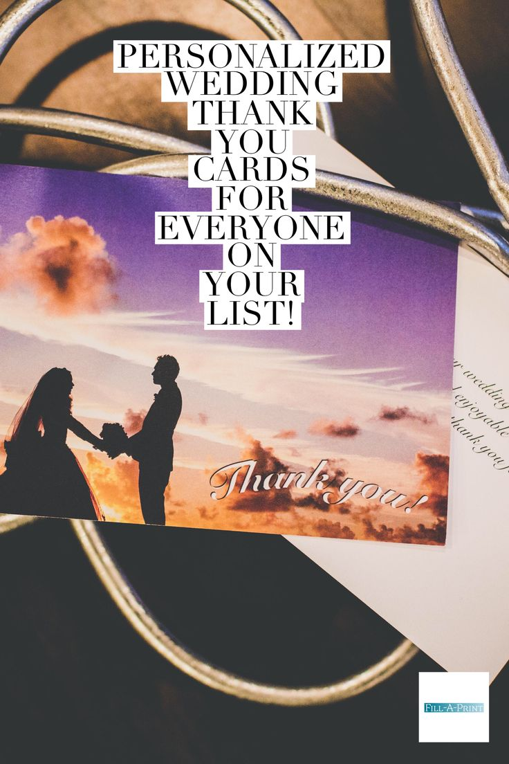 9 best Wedding thank you cards. images on Pinterest