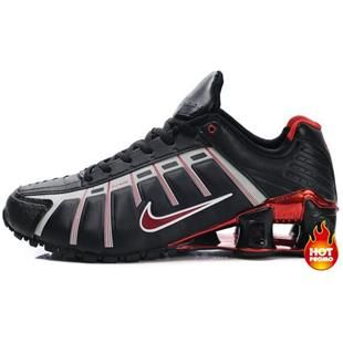http://www.asneakers4u.com Mens Nike Shox NZ 3 OLeven Black Red