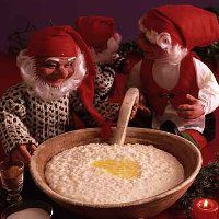 Riskrem: A classic Norwegian Christmasdessert -yes, they tasted it when you weren't looking