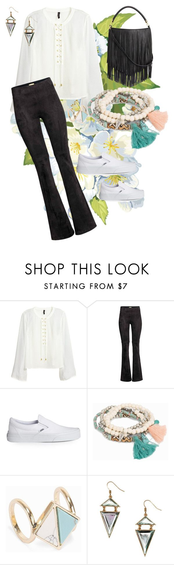 sb-16 by louisesandstroms on Polyvore featuring H&M and Vans