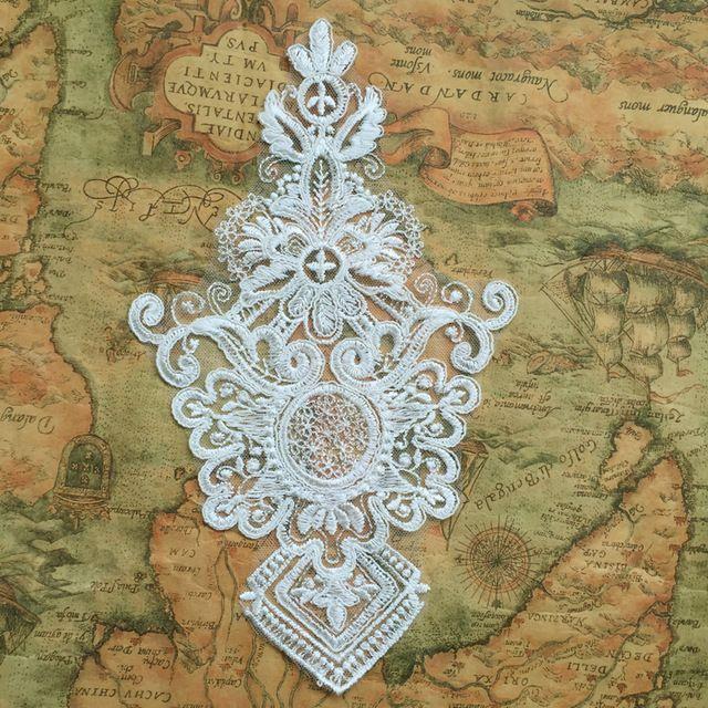 Ближний Восток стиль своеобразный рисунок вышивки кружева патч ткань вставьте специальный высокого класса свадьбы кружева аппликация