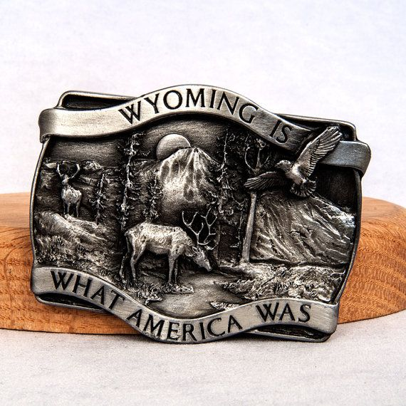 Wyoming Is What America Was Deer Eagle Trees Mountain by ArtCGecko