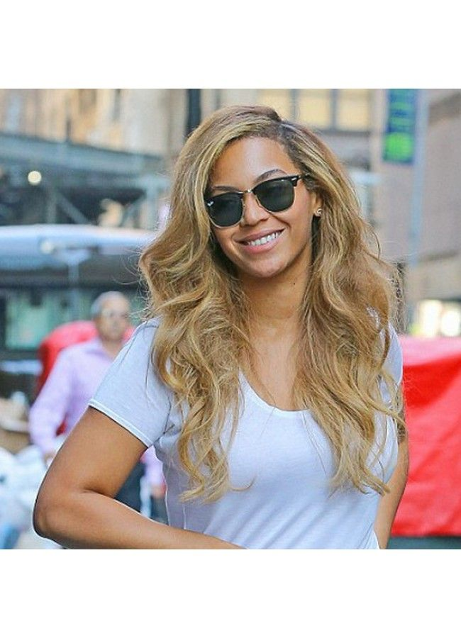 Beyonce Style Polarized Half-Frame Sunglasses - Celebrity Sunglasses - Collections | BleuDame.com