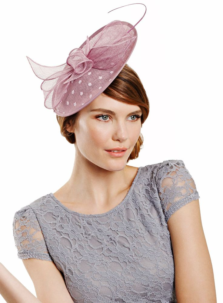 Pink Single Quill Oval Fascinator - accessories - Women - BHS