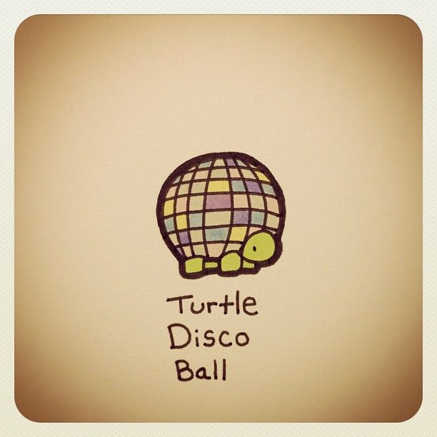 Turtle Disco Ball #turtleadayjuly - @turtlewayne- #webstagram