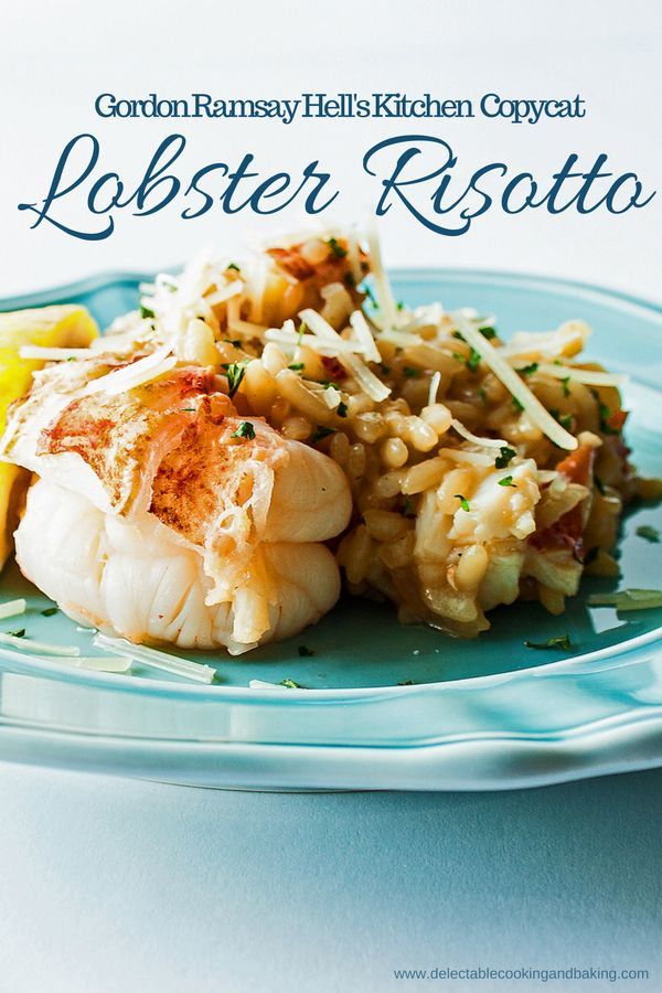 25+ best ideas about Lobster risotto on Pinterest | Scallop risotto recipes, Seafood risotto and ...