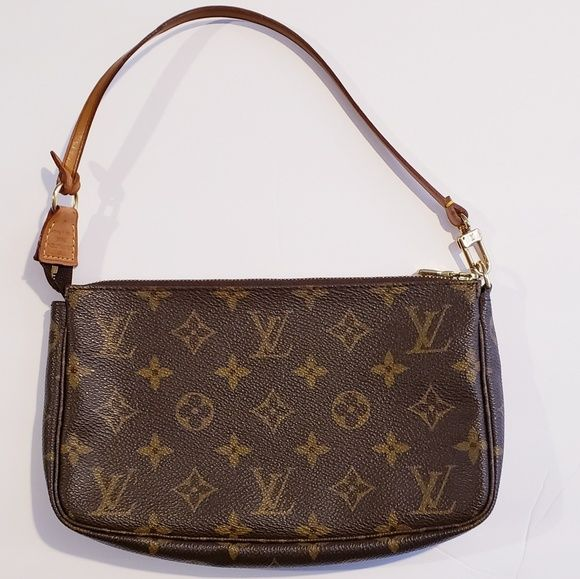 Louis Vuitton Monogram Canvas Pochette Bag Bags Bag