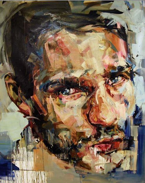 Painting of Andrew Salgado