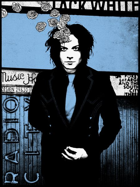 Gig Posters | GigPosters.com - Jack White - Pokey Lafarge And The South City Three