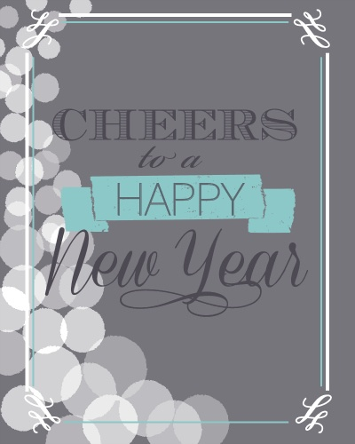 Free New Years Eve Printables at @A Night Owl Blog
