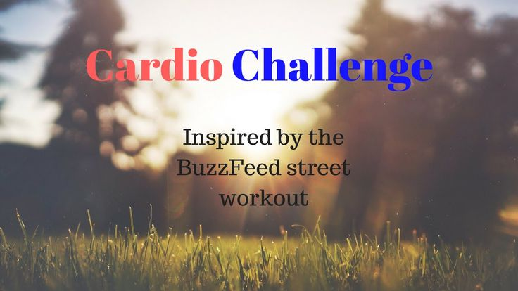 Newest workout. Our first cardio challenge. https://www.youtube.com/watch?v=R7lAPR7uwAw&feature=youtu.be