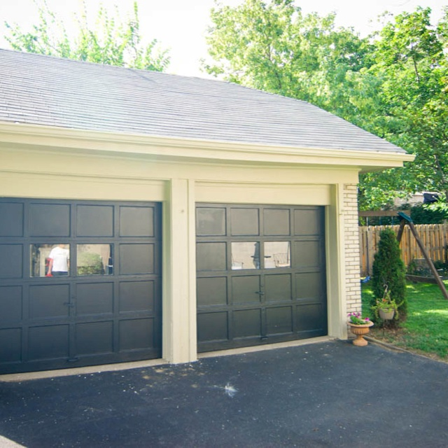 10 Best Black Garage Door Images On Pinterest Black