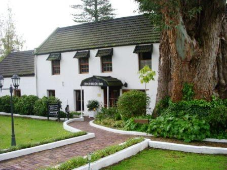 The Houw Hoek Country Inn - reputed to be the oldest country hotel in South Africa - is home to one of the oldest blue gum trees in the country