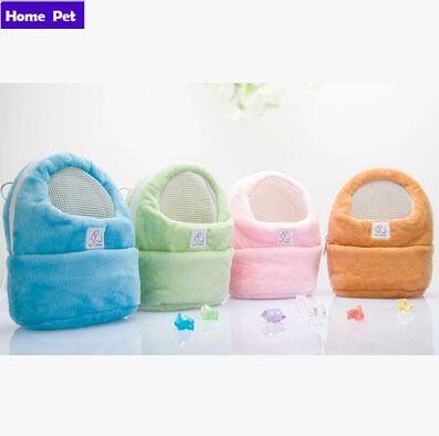 4 Colors African Mini Hedgehog Pet Hamster Carrier Bags Handbags Backpack For Hamster Travel prevent urine bag Free Shipping M71