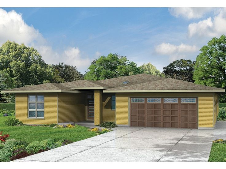 Prairie Style Home Plan With 2279 Square Feet And 3