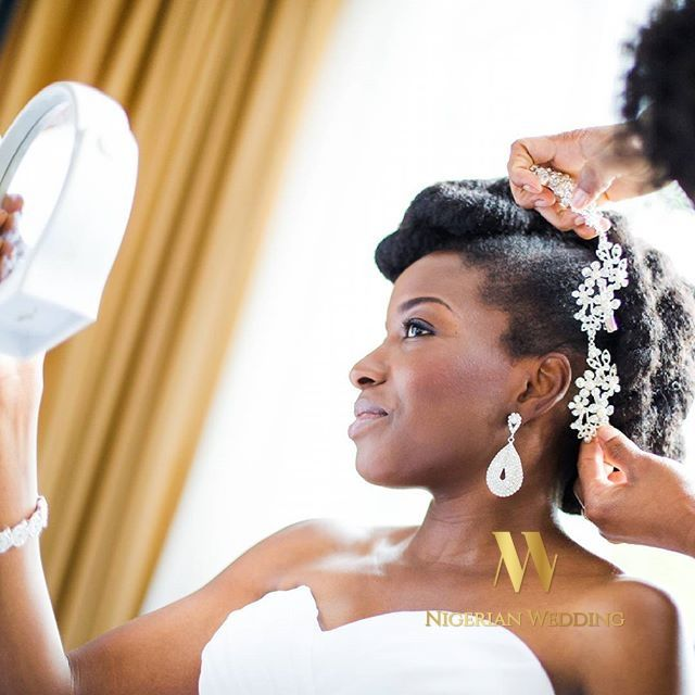 Nigerian Wedding Presents 70+ Gorgeous Natural Hairstyle Inspiration For Brides - Nigeria: Nigerian Wedding's Blog