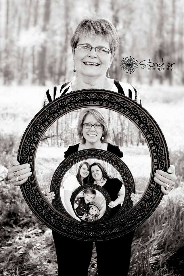 Awesome 4 generation picture idea!